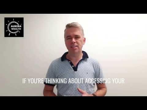 Micheal Anderson - Aurora Wealth - Accessing Your Super Earlier - Covid 19